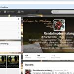Sudah Follow Twitter @rentalmotor_MLG ?