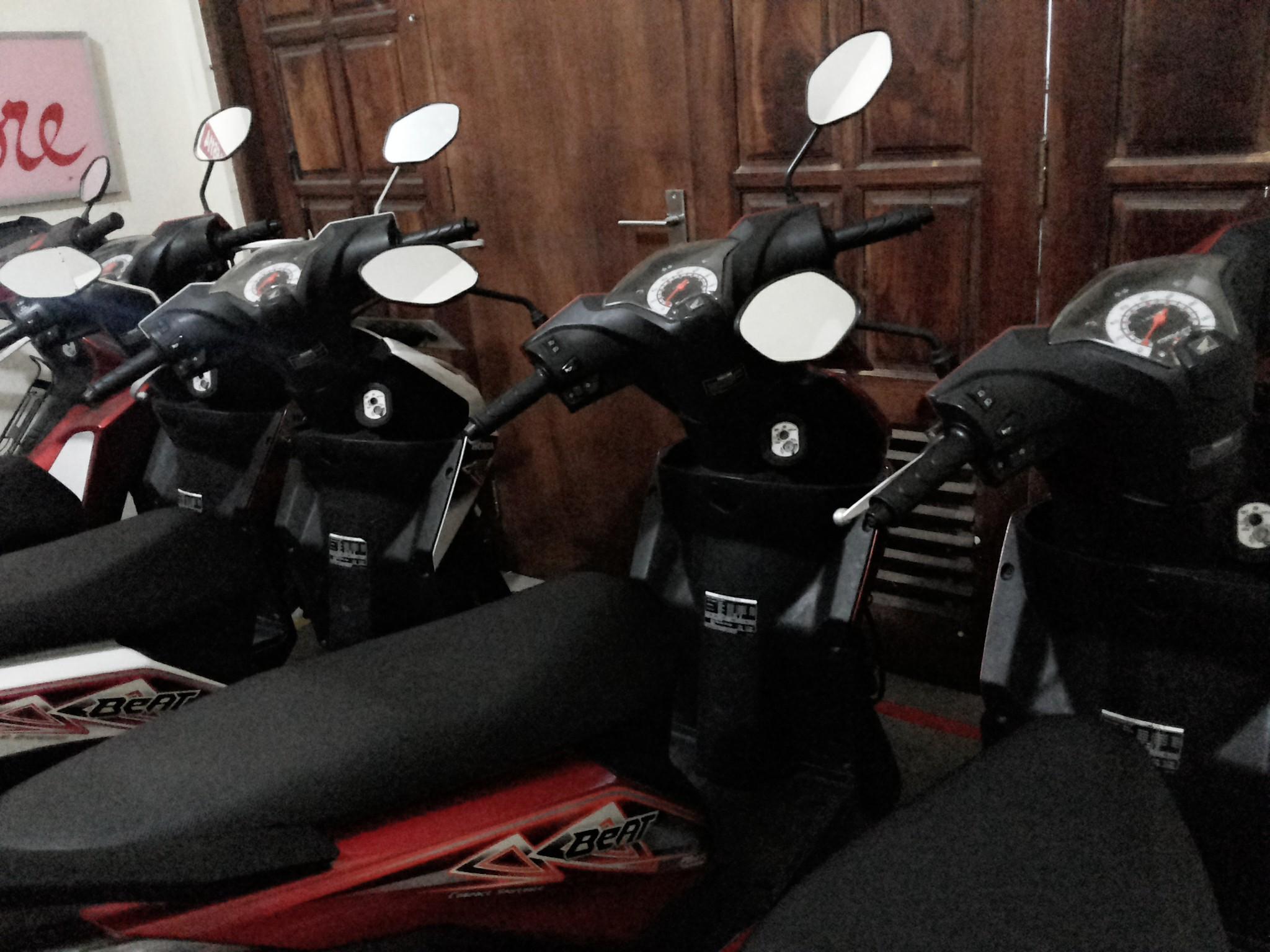 Motor yang ready di Rental Motor Di Malang