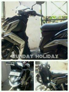 Sunday Holiday Rental Motor Malang - XEON GT Hitam