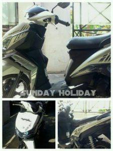 Sunday Holiday Rental Motor Malang - XEON GT PUTIH
